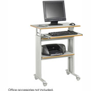 Safco® 1929GR Muv™ Stand-up Adjustable Height Workstation - Gray
