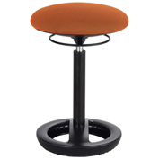 Safco® Twixt™ Active Seating Stool - Desk-Height - Orange