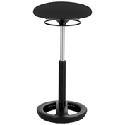 Safco® Twixt™ Active Seating Stool - Extended-Height - Black