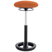 Safco® Twixt™ Active Seating Stool - Extended-Height - Orange
