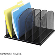 Onyx™ 5 Upright Sections Desktop Organizer