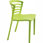 Entourage Stack Chair - Grass (Priced 4 per Carton)