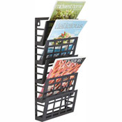 Safco® Grid Magazine Rack 5 Pocket