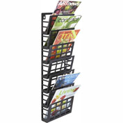 Safco® Grid Magazine Rack 7 Pocket