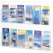 See-Thru 12 Pamphlet Display