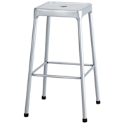 """Safco® Steel Stool 29"""" Bar Height - Silver"""