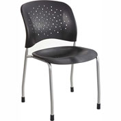 Safco® Rêve™ Guest Chair Black 2 Pack