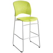 Safco® Reve™ Bistro Height Chair with Round Back - Grass