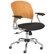 Safco® Reve™ Task Chair with Square Back - Natural