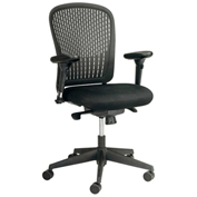 Safco® Adatti™ Fabric Task Chair - Black