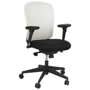 Safco® Adatti™ Fabric Task Chair - White