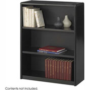 3-Shelf Economy Bookcase - Black