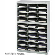 30 Compartment Steel Project Organizer - Gray