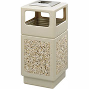 Canmeleon™ Aggregate Panel, Ash Urn/Side Open, 38 Gallon, Tan