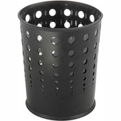 Bubble Wastebasket (Qty. 3) - Black