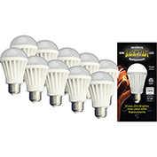 MiracleLED 604752 LED Bulb, A19, 12W, Package of 10