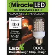 MiracleLED® General Purpose Cool Low Profile Bulb, 4W