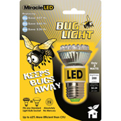 MiracleLED® Bug Light, Yellow Bulb, 2W