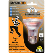MiracleLED® Outdoor Security Bulb, 4W