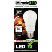 MiracleLED® Un-Edison Frosted A19 Bulb, 7W