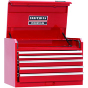 "Craftsman® Industrial™ 18250 5-Drawer 36"" 7000 Series Ball-Bearing Chest"