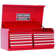 "Craftsman® Industrial™ 18299 10-Drawer 56"" 7000 Series Ball-Bearing Chest"
