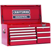 """Craftsman® Industrial™ 18455 8-Drawer 40"""" 5000 Series Ball-Bearing Chest"""