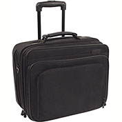 Stebco 267900 Ballistic Nylon Business Case On Wheels, Black
