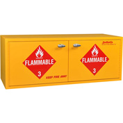 "20 Gallon, Stak-a-Cab™ Flammable Cabinet, Manual Close, 47""W x 18""D x 18""H"