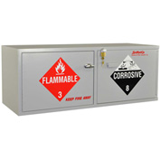 "Stak-a-Cab™ Combo Acid (10x2.5 Liter)/Flammable (10x1 Gal.) Cabinet, Self-Closing, 47""x18""x18"""