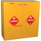 "54 Gallon, Flammable Cabinet, Self-Closing, 43""W x 18""D x 44-5/8""H"