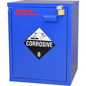 "5x2.5 Liter, Bench Corrosive Cabinet, 16-3/4""W x 15-3/4""D x 21-1/4""H"