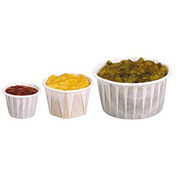 Paper Pleated Souffle Cups