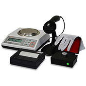 "Torbal DRX-4C-320 KIT NTEP Digital Pill Counting & Kit Scale 320g x .001g 4-11/16"" Diameter Platform"