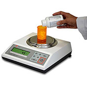 "Torbal DRX-4C2-320 NTEP Digital Pharmacy Pill Counting Scale 320g x 0.001g 4-11/16"" Dia. Platform"