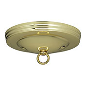 Satco 90-062 Standard Canopy Kit - Brass Finish