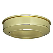 Satco 90-242 Canopy Extension - Brass Finish