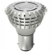 Satco S9005 2W ALR12 Miniature LED Double Contact Base 3000K 12V