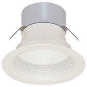 "Satco S9130 7W LED Downlight Retrofit 3"" Baffle Miniature 2 Pin Round Base 3000K 12V Dimmable"