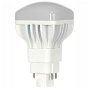 Satco S9302 13W LED/CFL Replacement Lamp 4-PIN G24Q Base 4000K 120-277V