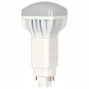Satco S9307 13W LED/CFL Replacement Lamp 4-PIN G24Q Base 5000K 120-277V Long