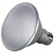 Satco S9419 13W PAR30 Short Neck LED 40' Beam Spread Medium Base 5000K Dimmable IP65