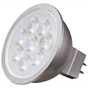 Satco S9493 6.5W MR16 LED 25' Beam Spread GU5.3 Base 4000K 12V