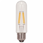 Satco S9580 4.5W T10 Filament LED Medium Base Medium Base 2700K Clear