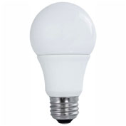 Satco S9597 9W LED A19 4-Pack, 800 Lumens, 5000K, Non-Dimmable