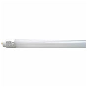 Satco S9918 43W LED T8 8 FT Fluorescent Tube Replacement Single Pin Base 4000K, Direct Wire - Pkg Qty 10