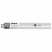 Satco S9712 25W LED T5 4 FT Fluorescent Tube Replacement Bi-Pin Base 3500K - Pkg Qty 10