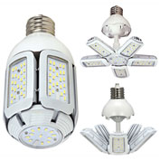 Satco S9752 60W LED HID Replacement Adjustable Beam Angle Mogul Extended Base 5000K 100-277V