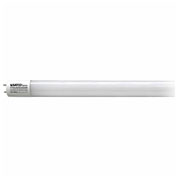 Satco S9991 10.5W LED T8 3 FT Fluorescent Tube Replacement, Med Bi-Pin Base, Glass, 3500K, 1450 Lum - Pkg Qty 10