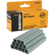 "Stanley Bostitch® B8 PowerCrown™ Staples, 45 Sheet Capacity, 3/8"" Leg Length, 5000/Box"